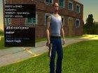Пак золотого оружия для GTA San Andreas вид сбоку
