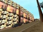 Новый завод на Грув Стрит. для GTA San Andreas вид сбоку