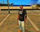 Hilfiger denim tshirt for GTA San Andreas rear-left view