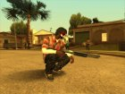 Guns default 'quality for GTA San Andreas top view