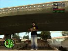 Crow make up for GTA San Andreas left view