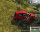 VW Golf Gti v1.0 Red for Farming Simulator 2013 top view