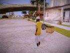 Random Black Dude for GTA San Andreas side view