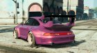 1995 Porsche 911 GT2 (993) Rauh-Welt Begriff (RWB) for GTA 5 rear-left view
