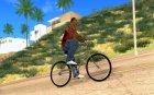 Новый велосипед для GTA San Andreas вид изнутри