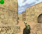 Engraved Desert Eagle (Серебренный) для Counter-Strike 1.6 вид сзади