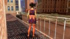 Asian Girl from Binary Domain for GTA San Andreas rear-left view