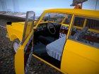 Москвич 412 Такси для GTA San Andreas вид изнутри