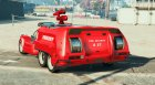 Firetruk for GTA 5 left view