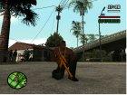 Gold Guns Pack для GTA San Andreas вид сзади