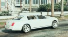 2010 Bentley Continental Flying Spur для GTA 5 вид сверху