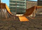 HD скейт парк for GTA San Andreas rear-left view