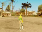 Vagos in hawaiian shirt для GTA San Andreas вид сзади слева
