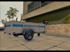 GTA V Utility Trailer (v.1.0) for GTA San Andreas rear-left view