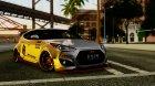 Hyundai Veloster Turbo 2013 Capruk Works Kit для GTA San Andreas вид слева