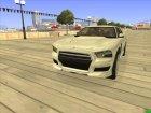 Buffalo GTA V ImVehFt for GTA San Andreas rear-left view