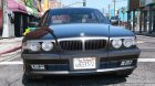 BMW 740i E38 Shadow Line 1.0 for GTA 5 rear-left view