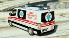 Serbian Ambulance for GTA 5 left view