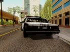 HD LVPD Police Cruiser for GTA San Andreas rear-left view