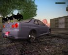 Nissan Skyline GT-R ESR для GTA San Andreas вид сверху