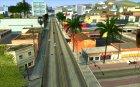 Увеличение прорисовки машин и педов for GTA San Andreas left view