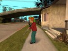 Philip J. Fry A from Futurama для GTA San Andreas вид слева