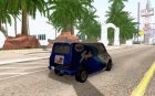Ford Transit Supervan 3 2004 для GTA San Andreas вид сверху