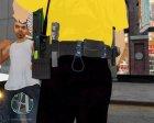 Униформа LVMPD для GTA 4 вид сверху