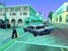 Реакция на гудок для GTA San Andreas вид сзади слева