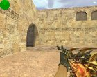 M4A1 Тёмный рыцарь для Counter-Strike 1.6 вид слева