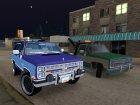 Пак автомобилей Chevrolet для GTA San Andreas вид изнутри
