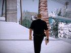Офицер Пенделберри for GTA San Andreas rear-left view