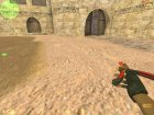 Нож бабочка for Counter-Strike 1.6 left view