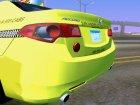 2010 Honda Accord Taxi для GTA San Andreas вид сверху