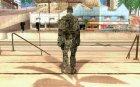 Новый солдат для GTA San Andreas вид сзади слева