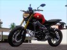 Yamaha MT 09 for GTA San Andreas side view