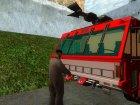 Реалистичная пожарная станция в СФ V2.0 для GTA San Andreas вид сзади слева