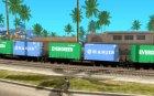 Lokomotive for GTA San Andreas left view