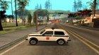 ВАЗ 2121 Полиция для GTA San Andreas вид слева