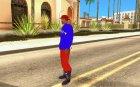 Кофта клоуна для GTA San Andreas вид слева