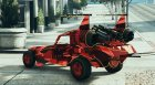 Red Military Camo - SpaceDocker - PaintJob for GTA 5 rear-left view