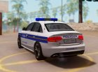 Audi S4 - Croatian Police Car для GTA San Andreas вид сбоку