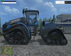 NewHolland T9.565 SmartTrax for Farming Simulator 2015 rear-left view