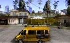 Газель Такси for GTA San Andreas left view