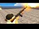AK-47 Egyptian Maadi для GTA San Andreas вид изнутри