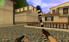 Police stick to knife [beta] for Counter-Strike 1.6 left view
