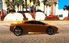 Lamborghini Murcielago LP640 для GTA San Andreas вид изнутри