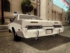 Dodge Monaco Hazzard County Sheriff for GTA San Andreas rear-left view