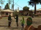 HD Пак банд Los Santos'а for GTA San Andreas back view