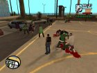 Разборки банд для GTA San Andreas вид слева